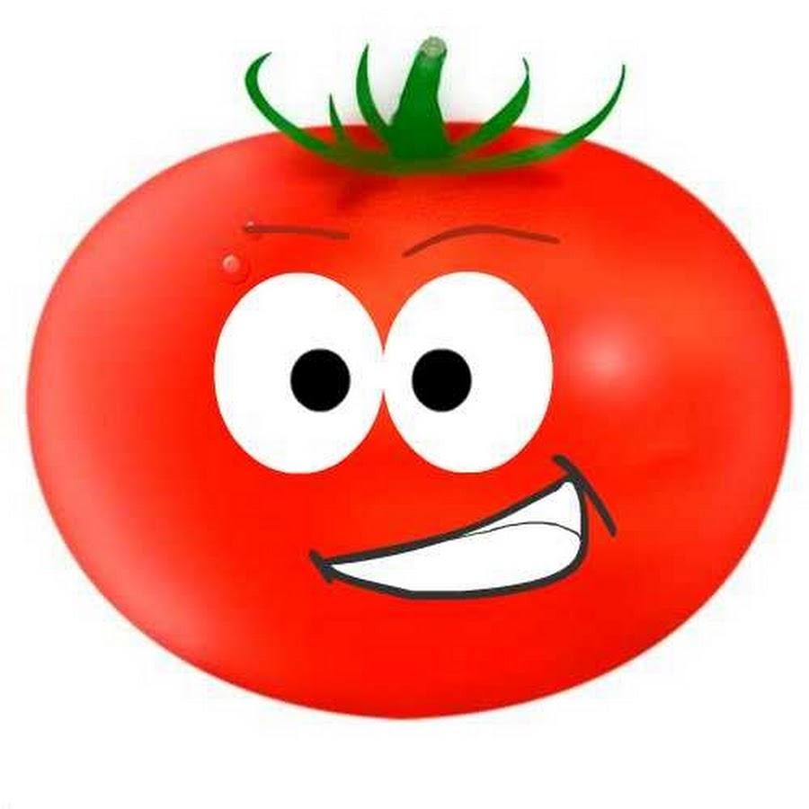 Картинка веселые помидоры