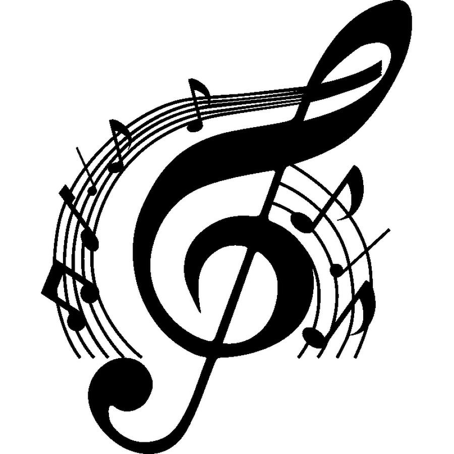 Картинка с скрипичным ключом
