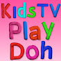 Kids TV Play Doh - How to DIY Youtube channel statistics and Realtime subscriber counter