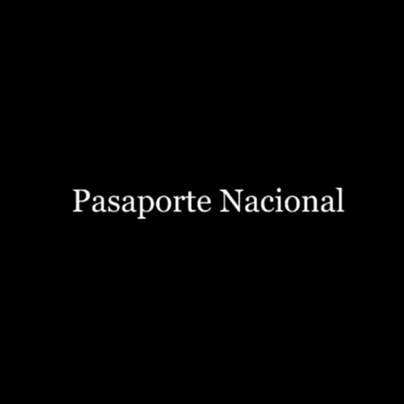 PASAPORTE NACIONAL