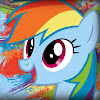Mlp fani Lightning Blue