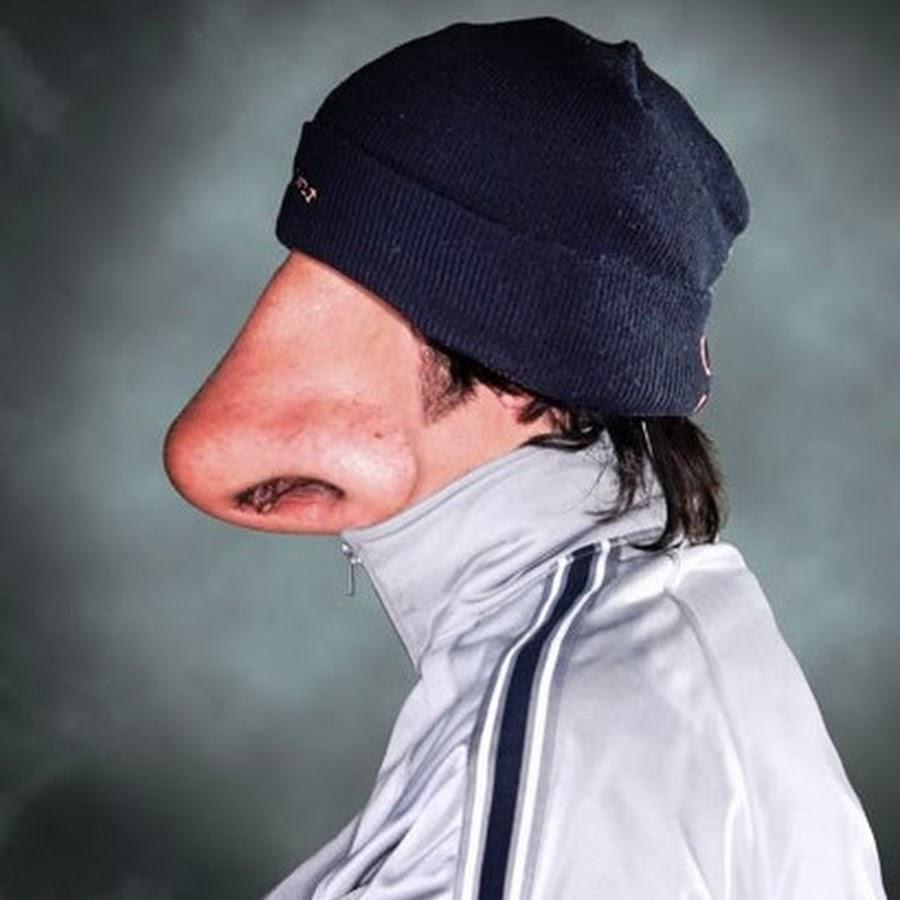 Картинка прикольная мужчина с большим носом на 40 лет