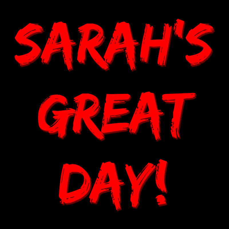 Sarahsgreatday YouTube channel image
