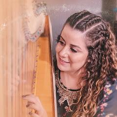 Harpista Aline Araújo Oficial