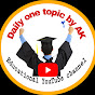 Daily one topic by AK