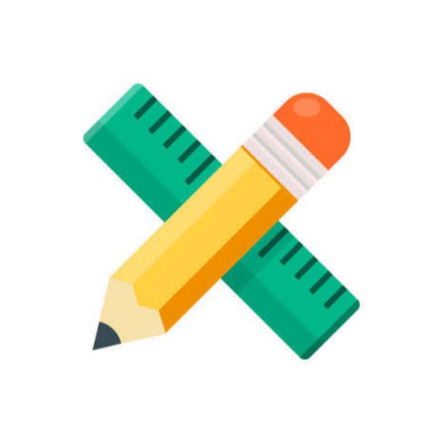 Картинка линейка карандаш