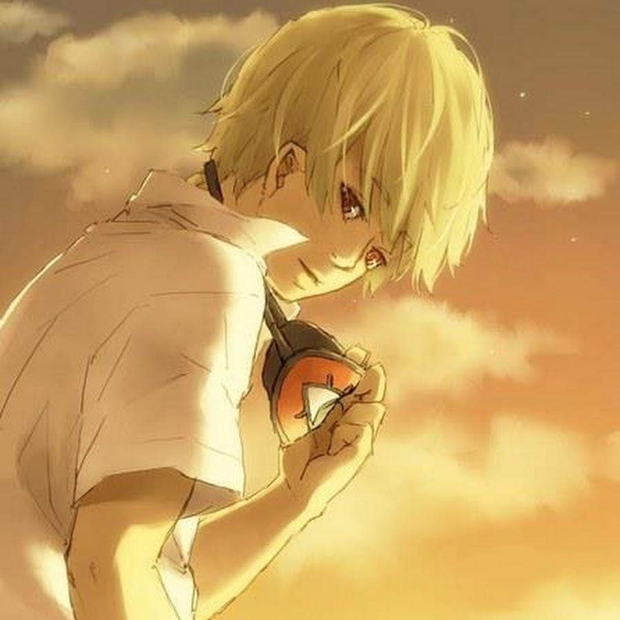 Картинки блондины аниме