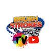 Brush Strokes Painting Cork