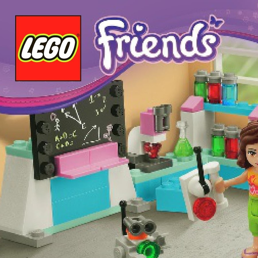 Lego Friends Building Instructions Youtube