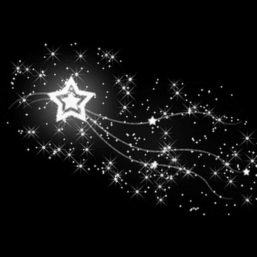 Днем рождения, анимация сверкающие звезды на прозрачном фоне