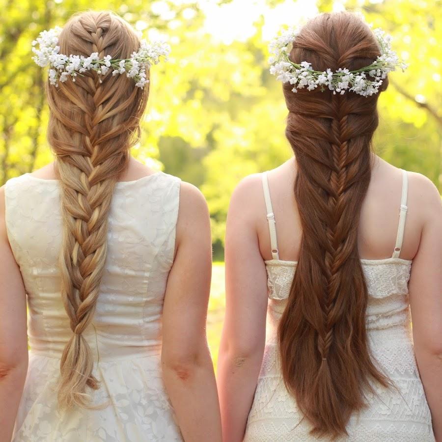 Wedding Hairstyles Youtube: Mia & Linda