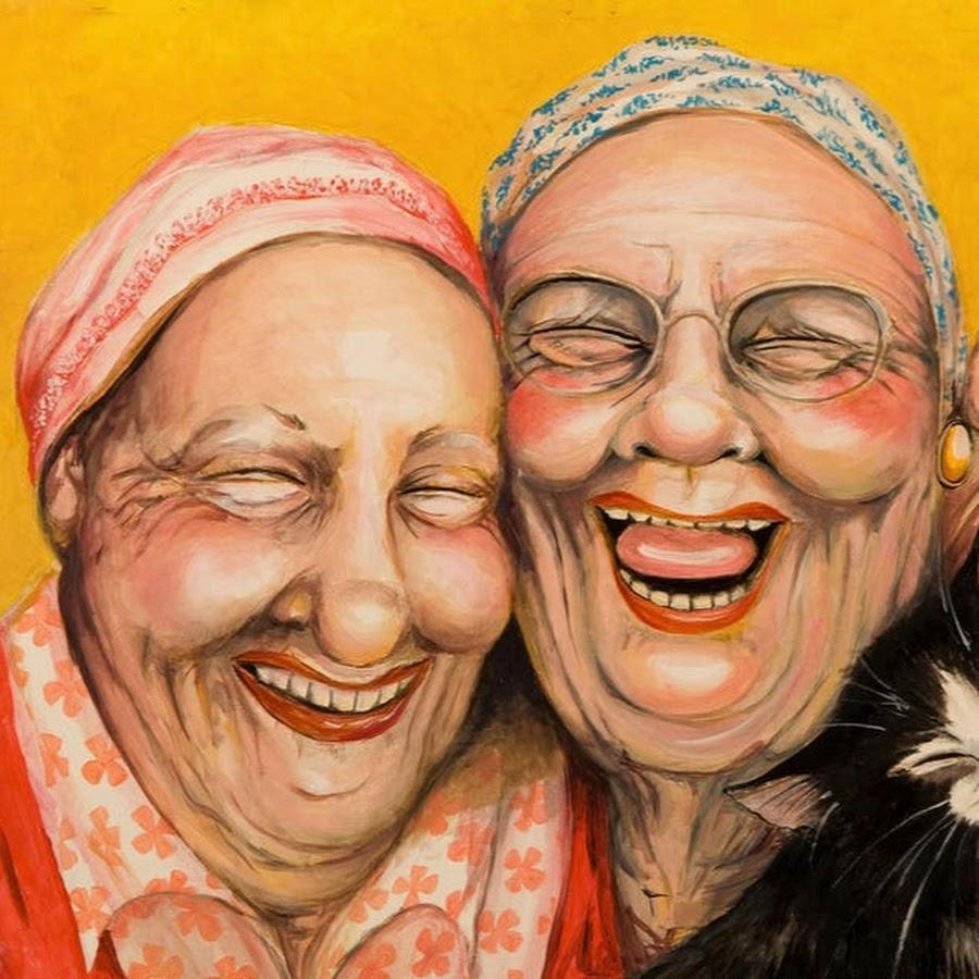 Смешные картинки старушек подружек, энгри