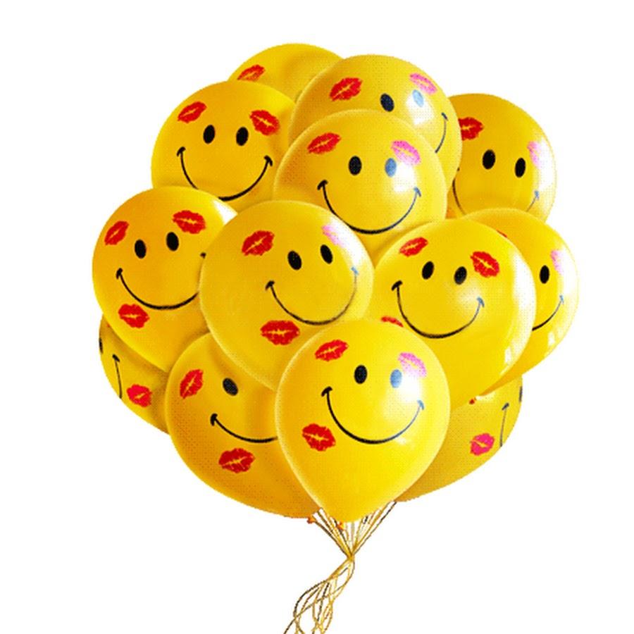 Картинки анимашки шарики воздушные
