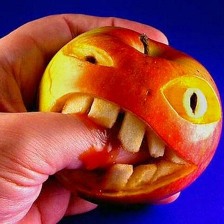 Смешные фрукты картинка