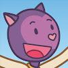 Misha La gata violeta