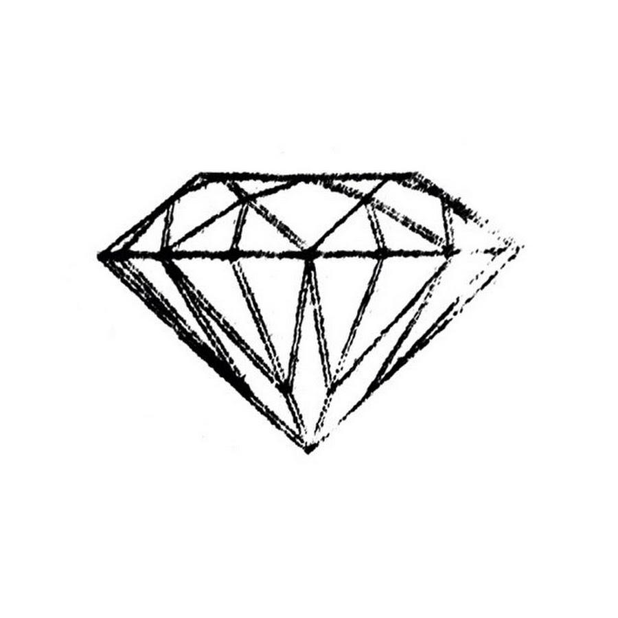 Картинки с алмазами нарисованные