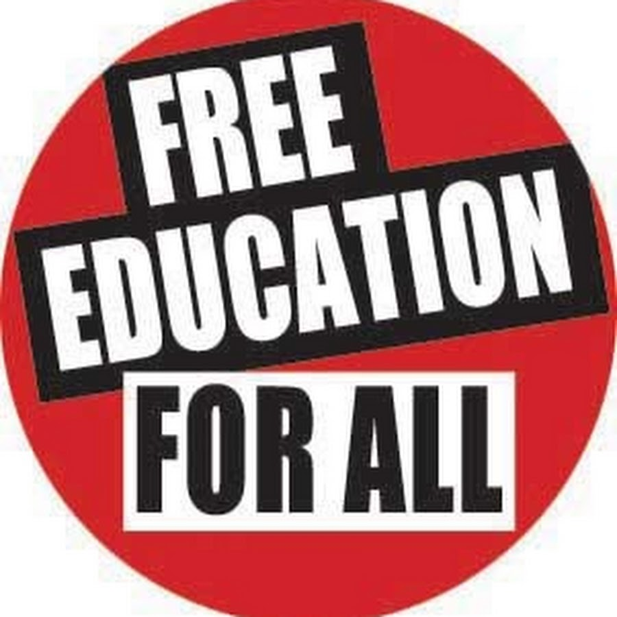 Free Education For All - YouTube