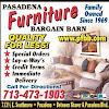 Pasadena Furniture Bargain Barn