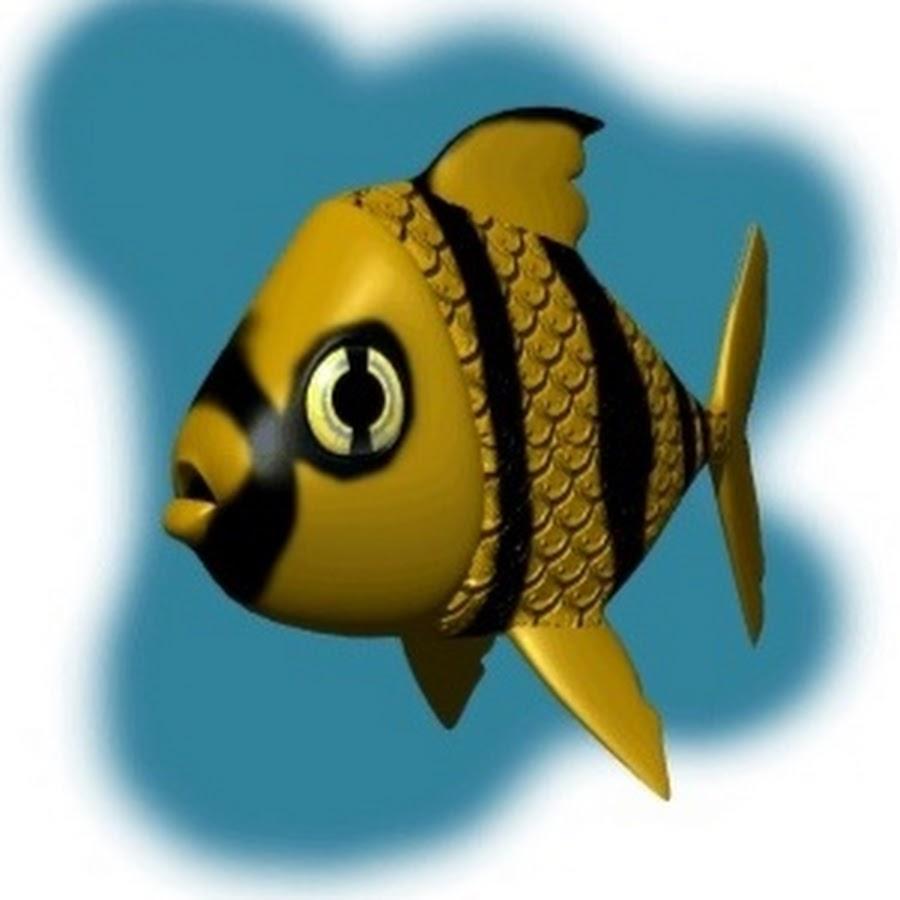 Для, картинки анимашки рыбка
