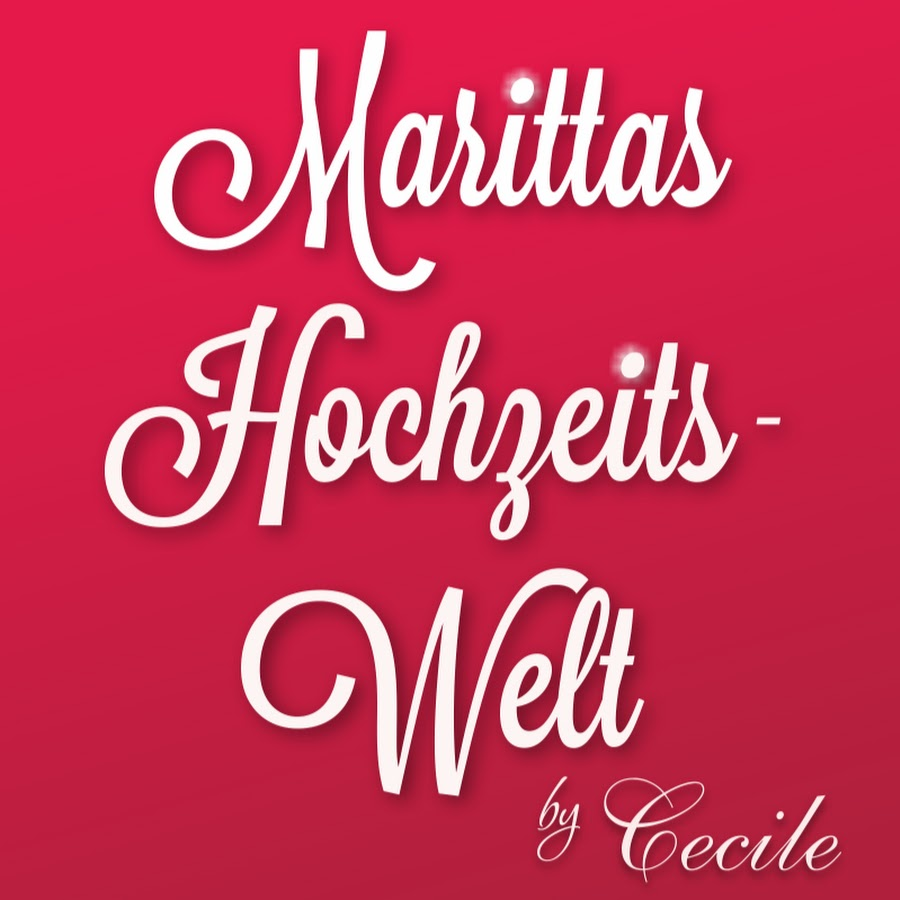 5ab80f9bc57 Marittas HochzeitsWelt by Cecile - YouTube