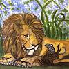 Squeaking Lion