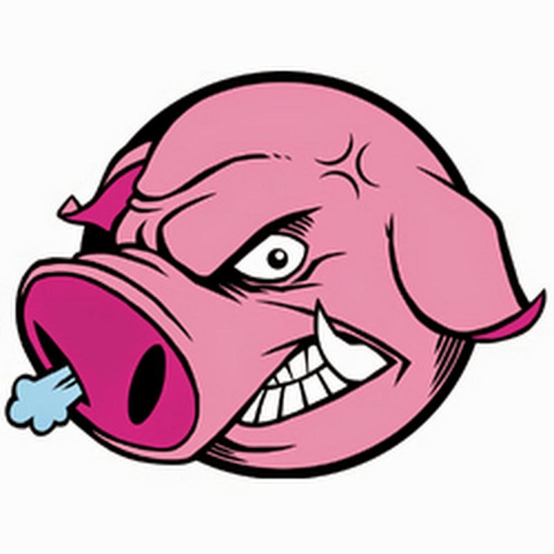 Смешная картинка злая свинья, ирину