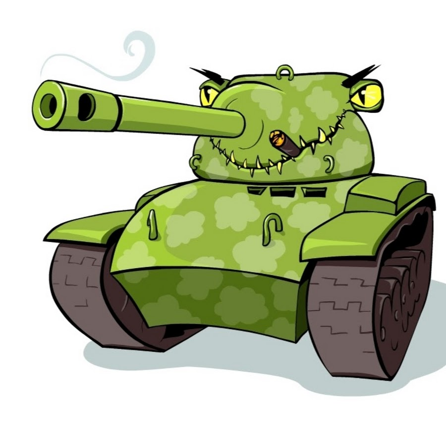 Картинки для детей прикольный танк