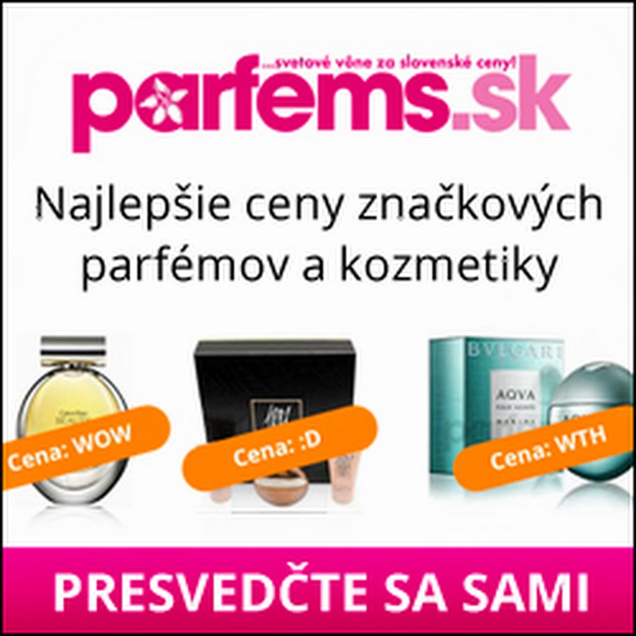 Parfémy na PARFEMS sk - YouTube