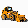 Cartoons For Children Tractor Pavlik