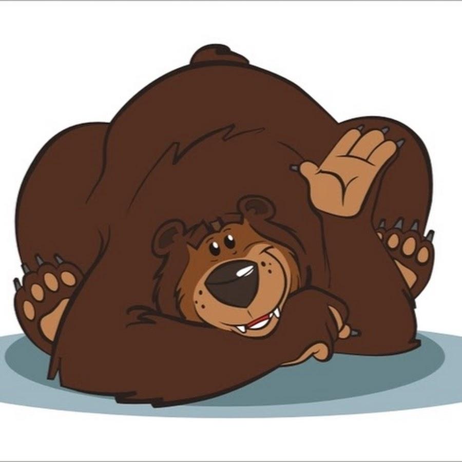 Смешные медведи картинки рисованные, любовь