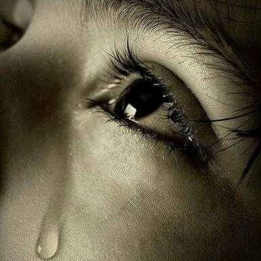 Днем рождения, картинки про слезы с надписью