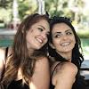 Aníbia e Amanda Machado