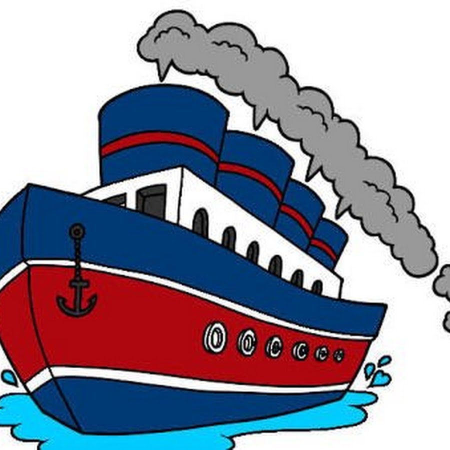 Картинки пароход для детей, день