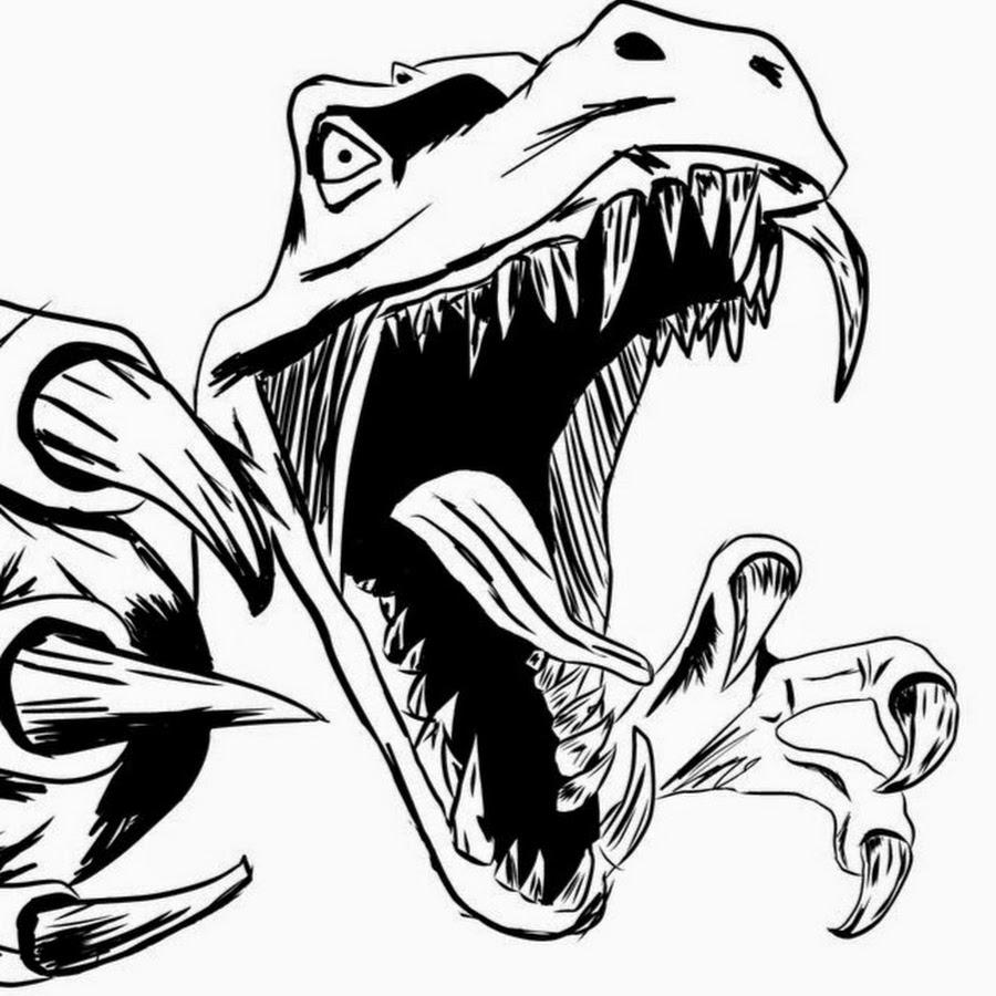 Крутые рисунки динозавров, днем рождения
