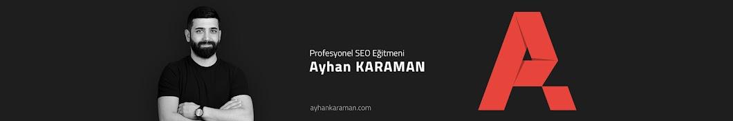 Ayhan KARAMAN Banner