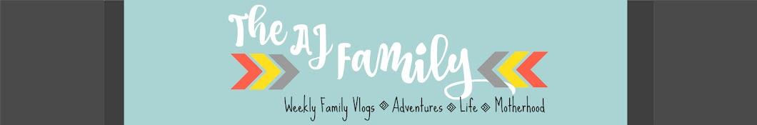 The AJ Family Vlogs Banner