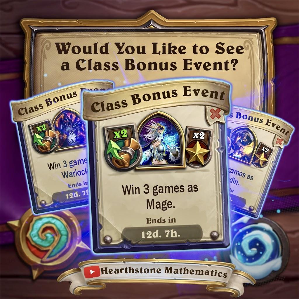 Hearthstone Class Bonus Event