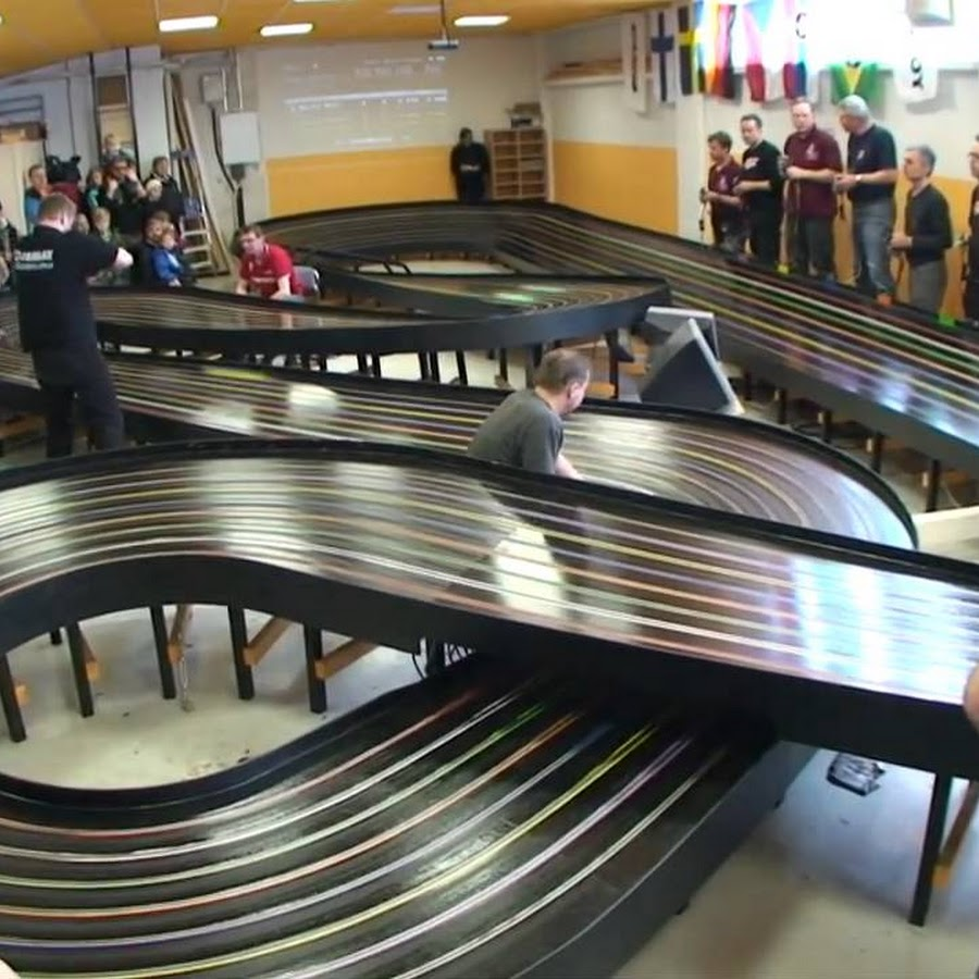 Doing a bit of slot car racing at Cactus RC in Phoenix.Camera used, iPhone 4.