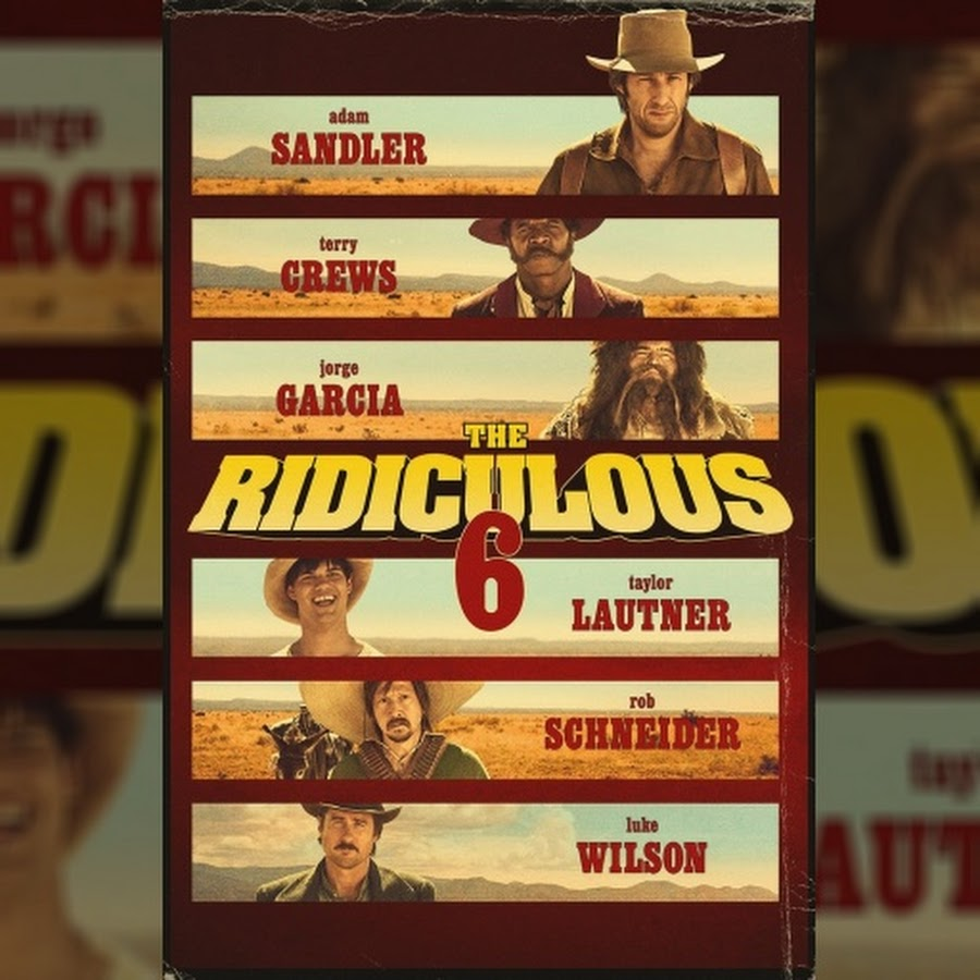the ridiculous 6 dvd
