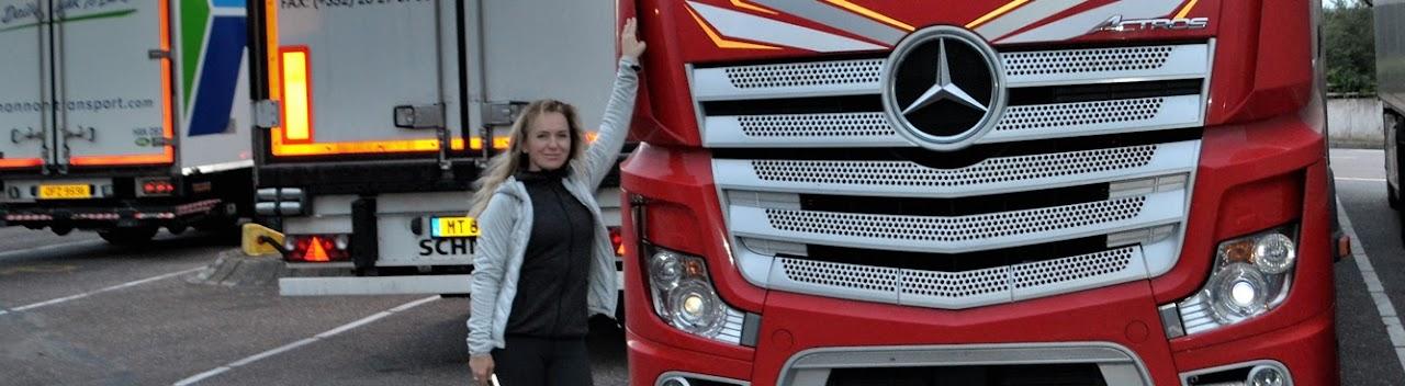 Svetlana Novikova Truck&Girl