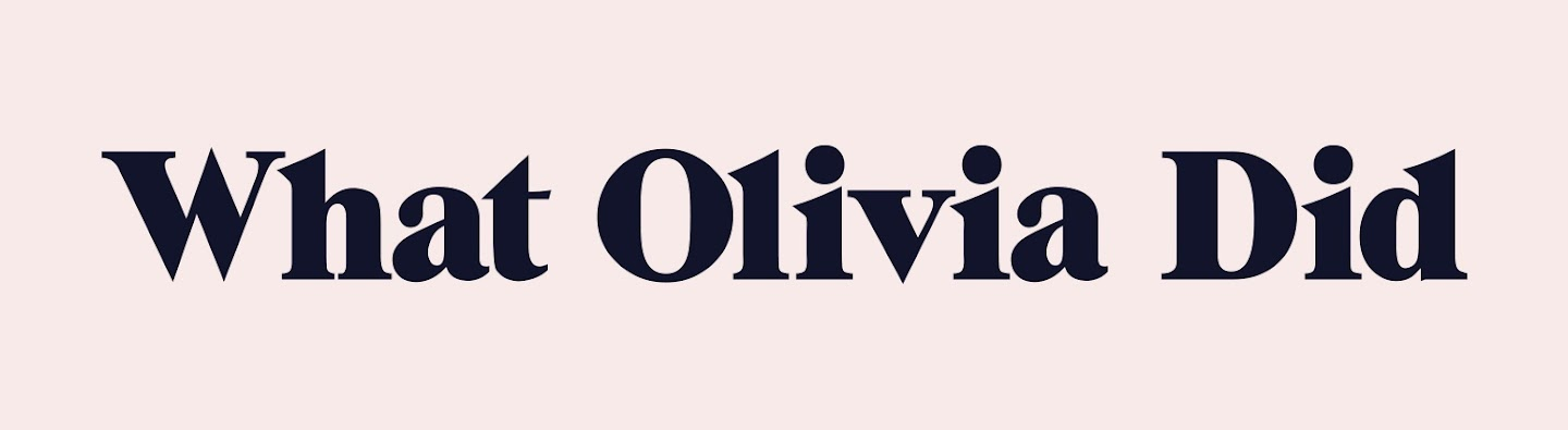 What Olivia Did's Cover Image