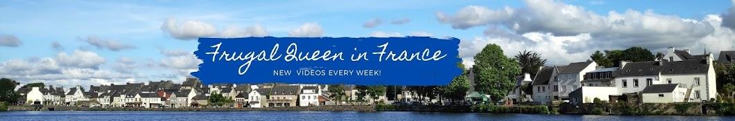 Frugal Queen in France Banner