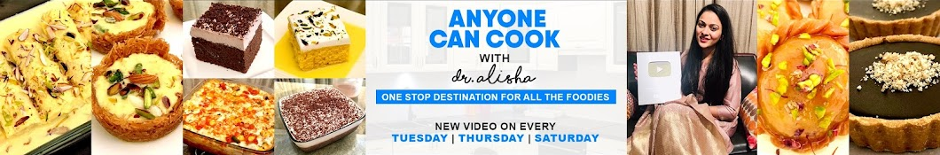 Anyone Can Cook with Dr.Alisha