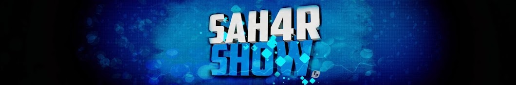 SAH4R SHOW баннер