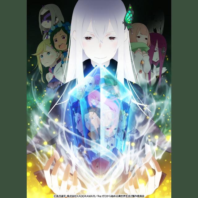 Re:Zero Kara Hajimeru Isekai Seikatsu (Re:Zero − Starting Life in Another World) - Season 2 Poster