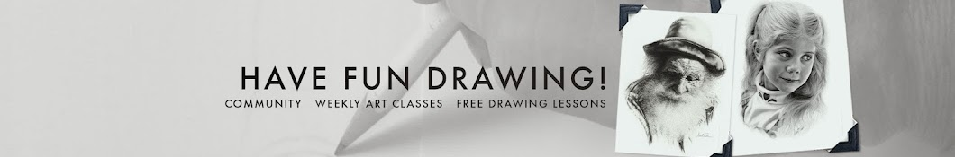 5-Pencil Method / Drawing With Darrel Tank Banner