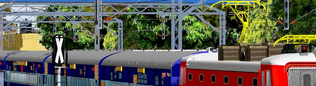 Indian Train Simulator in Open Rail