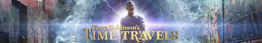 Tony Robinson's Time Travels Banner
