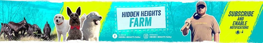 Hidden Heights Farm Banner