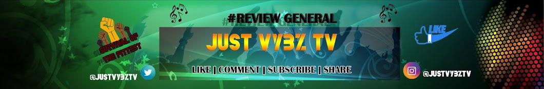 Just Vybz TV Banner